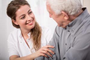 Ausbildung als Altenpflegerin